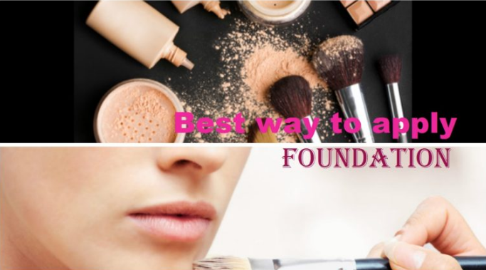 The Best Way To Apply Foundation 2020