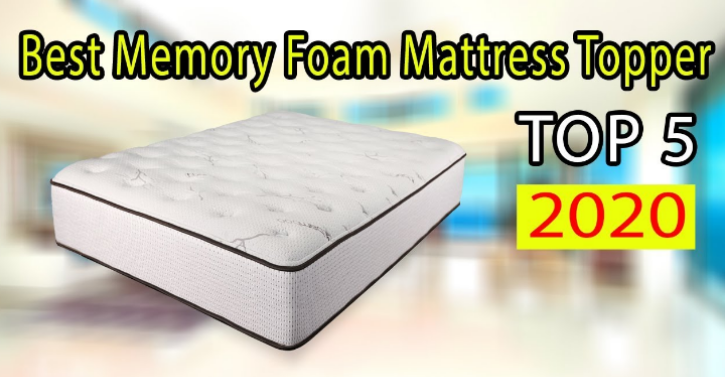 CAN I JUST USE A TOPPER OR DO I NEED A WHOLE NEW MEMORY FOAM MATTRESS 2020
